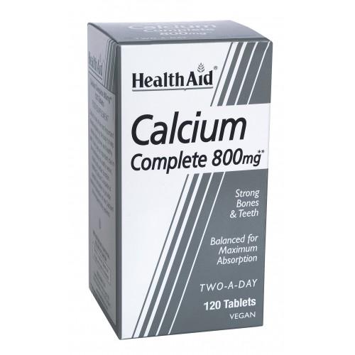 H/AID CALCIUM 800mg 120tabs