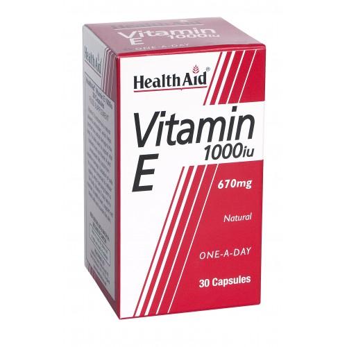 H/AID VITAMIN Ε 1000iu 30caps