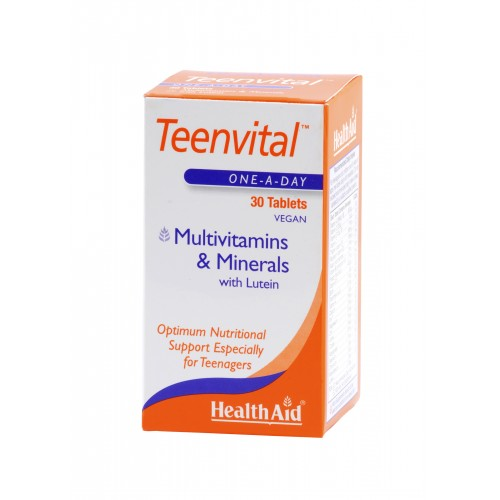 H/AID TEENVITAL multivitamins30tbs