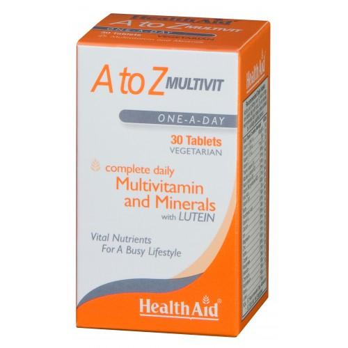 H/AID Α to Ζ MULTIVIT 30tabs