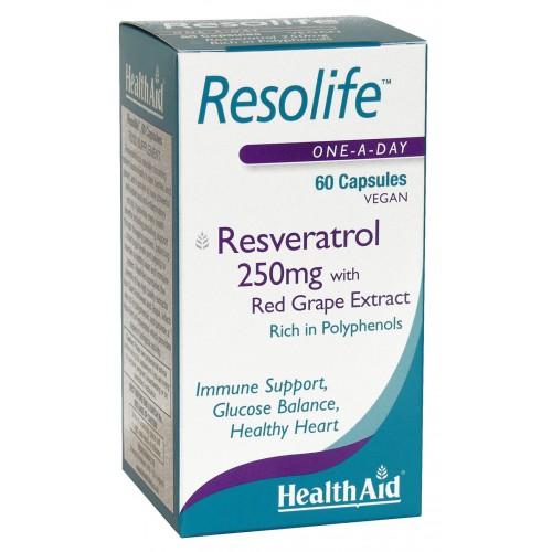 H/AID RESOLIFE resveratrol 250mg60c