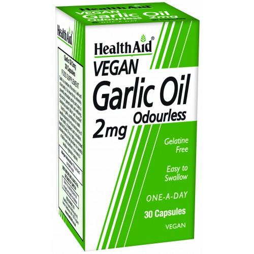 H/AID GARLIC OIL 30caps
