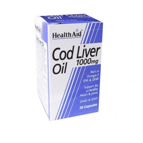 H/AID COD LIVER OIL  30caps
