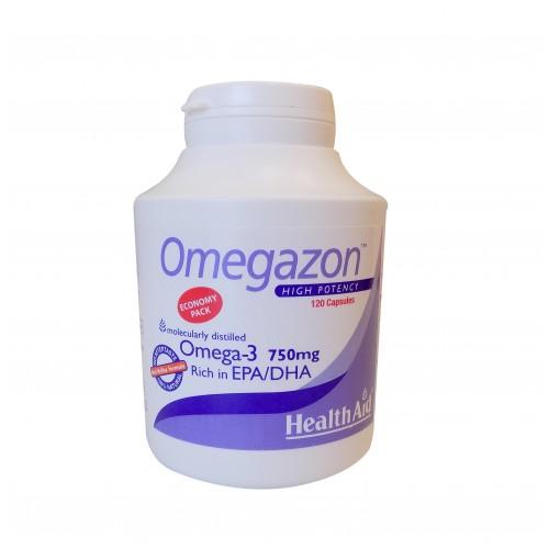 H/AID OMEGAZON 750mg 120CAPS