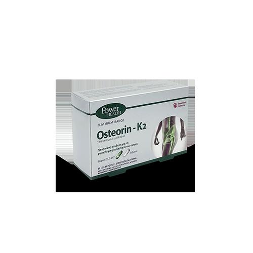 POWER HEALTH OSTEORIN-K2, 60s caps