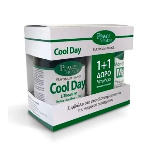 POWER HEALTH Platinum COOL DAY  30s TABS + ΔΩΡΟ MAGNESIUM 10s