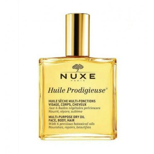Nuxe Huile Prodigieuse- Ξηρό λάδι για πρόσωπο-σώμα-μαλλιά 50ML
