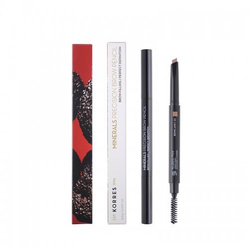 Korres Minerals Precision Brow Pencil - 03 Light Shade