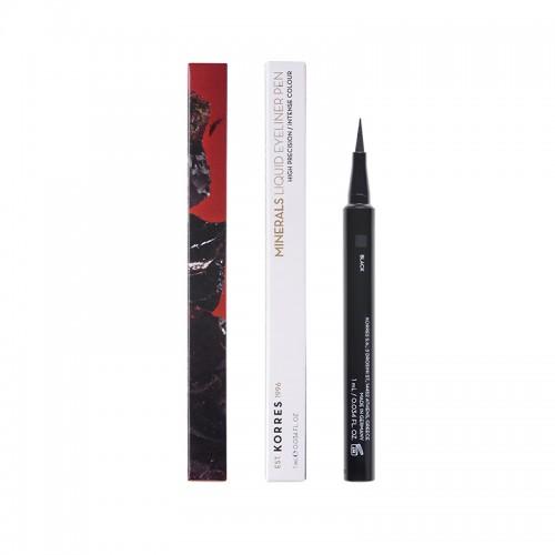 Korres Minerals Liquid Eyeliner Pen 01 Black