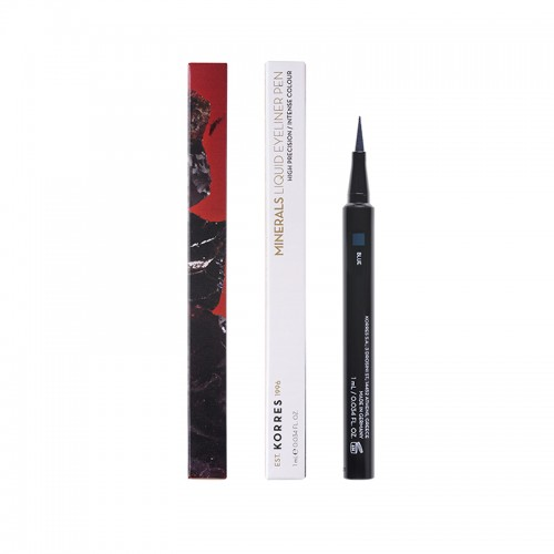 Korres Minerals Liquid Eyeliner Pen 03 Blue