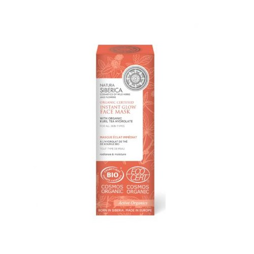 Natura Siberica Instant Glow Face Mask 75ml