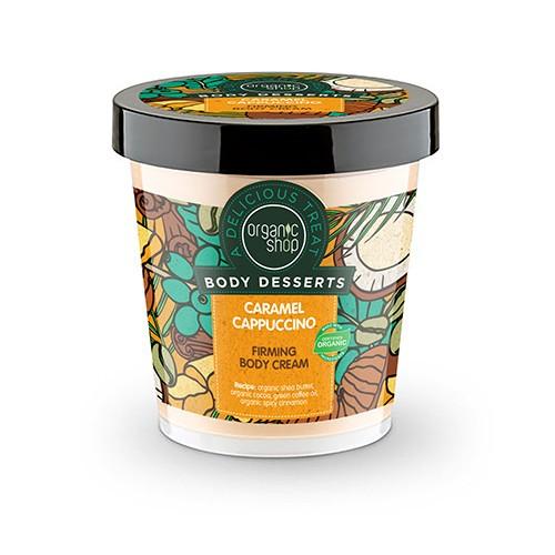 Organic Shop Body Desserts Caramel Cappuccino