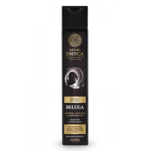 NATURA SIBERICA MEN Hair Growth Shampoo Activator Beluga