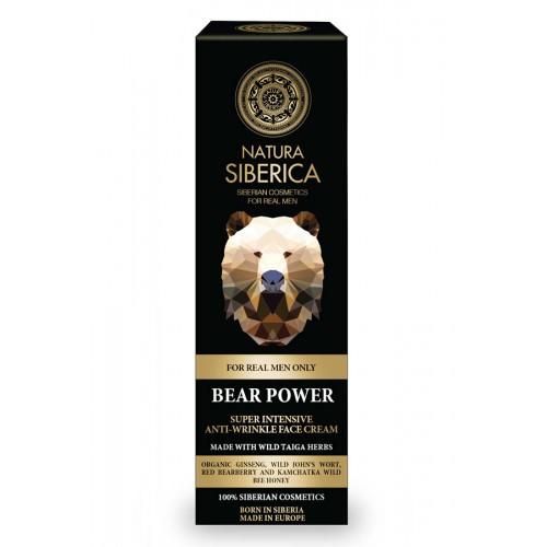 NATURA SIBERICA MEN Bear Power face cream