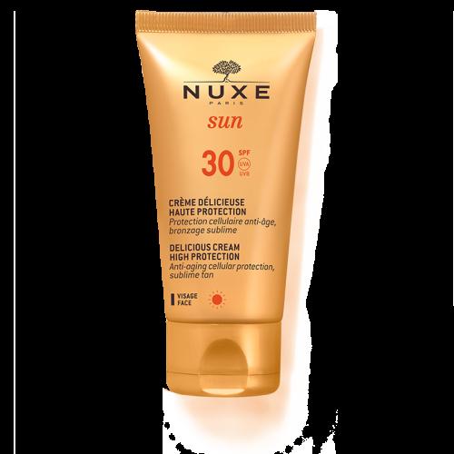 NUXE SUN face cream- αντηλιακή κρέμα προσώπου SPF30