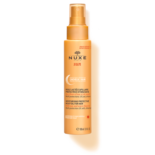 NUXE SUN protective milky oil for hair- Προστατευτικό αντηλιακό γαλάκτωμα μαλλιών 100ml