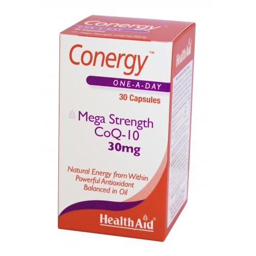 H/AID CONERGY Co-Q10 30mg 30caps