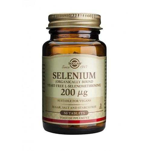 SOLGAR SELENIUM 200μg tabs 50s